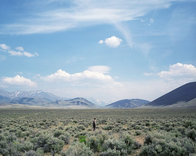 "Adrain Chesser, ""Sage Field,"" Lone Pine Ridge, Idaho, from 'The Return' (all photographs courtesy the artist and Daylight Books unless otherwise noted)"